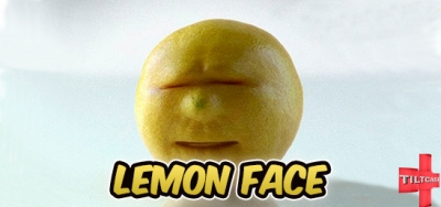 S10 398 Lemon Face